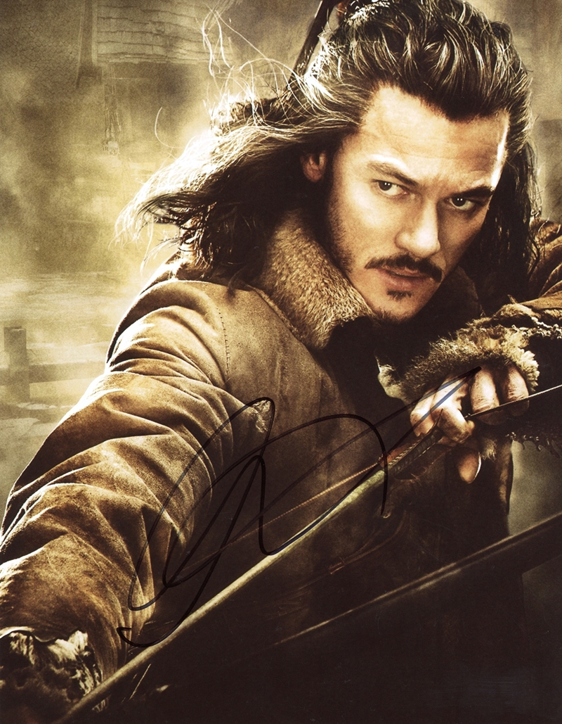 Luke Evans Signed Photo