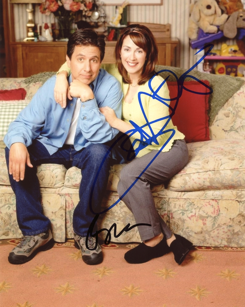 Ray Romano & Patricia Heaton Signed Photo