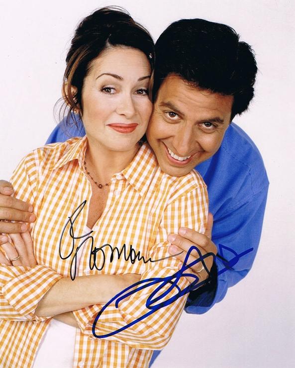 Ray Romano & Patricia Heaton Signed Photo
