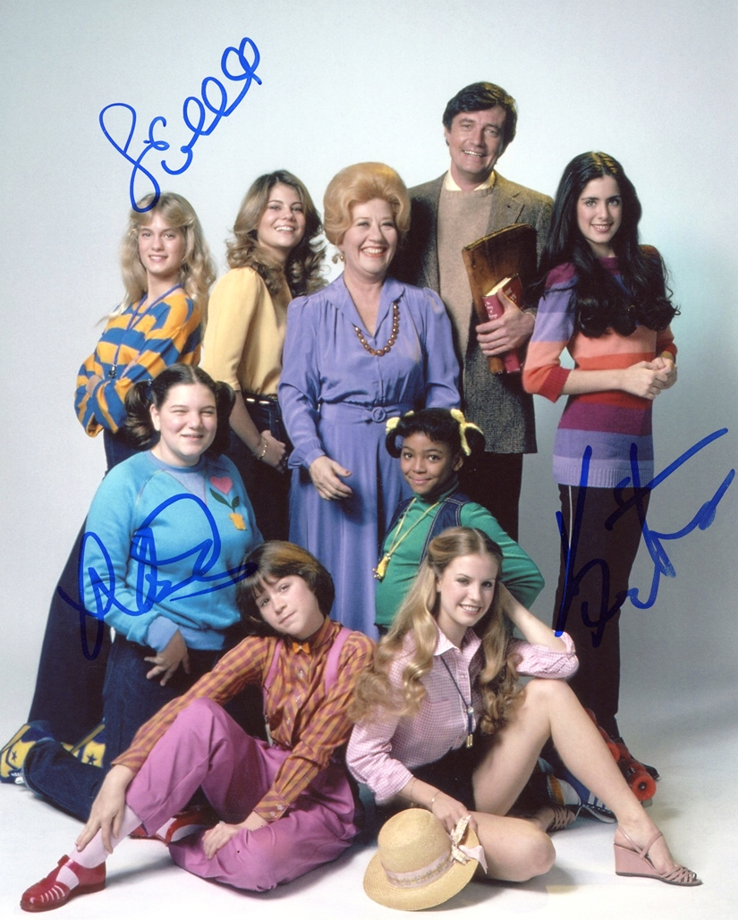 The Facts of Life Signed Photo