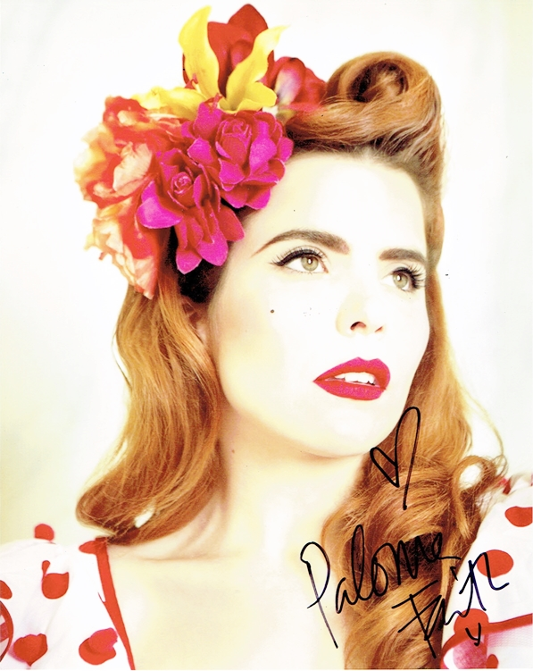 Paloma Faith Signed Photo