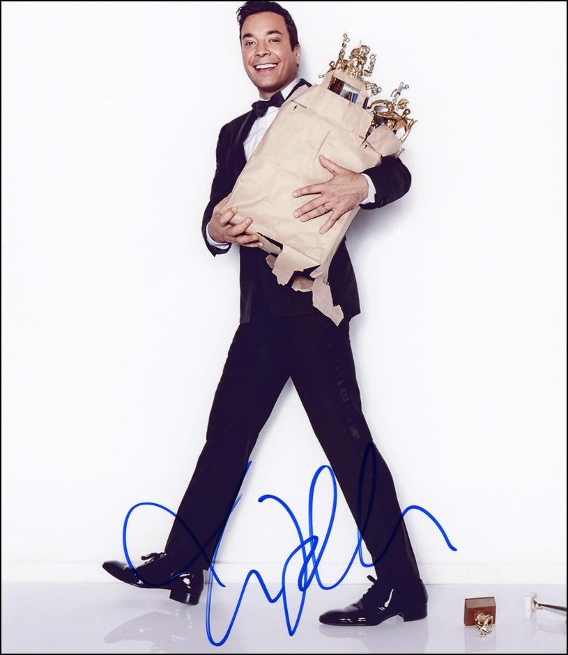 Jimmy Fallon Signed Photo