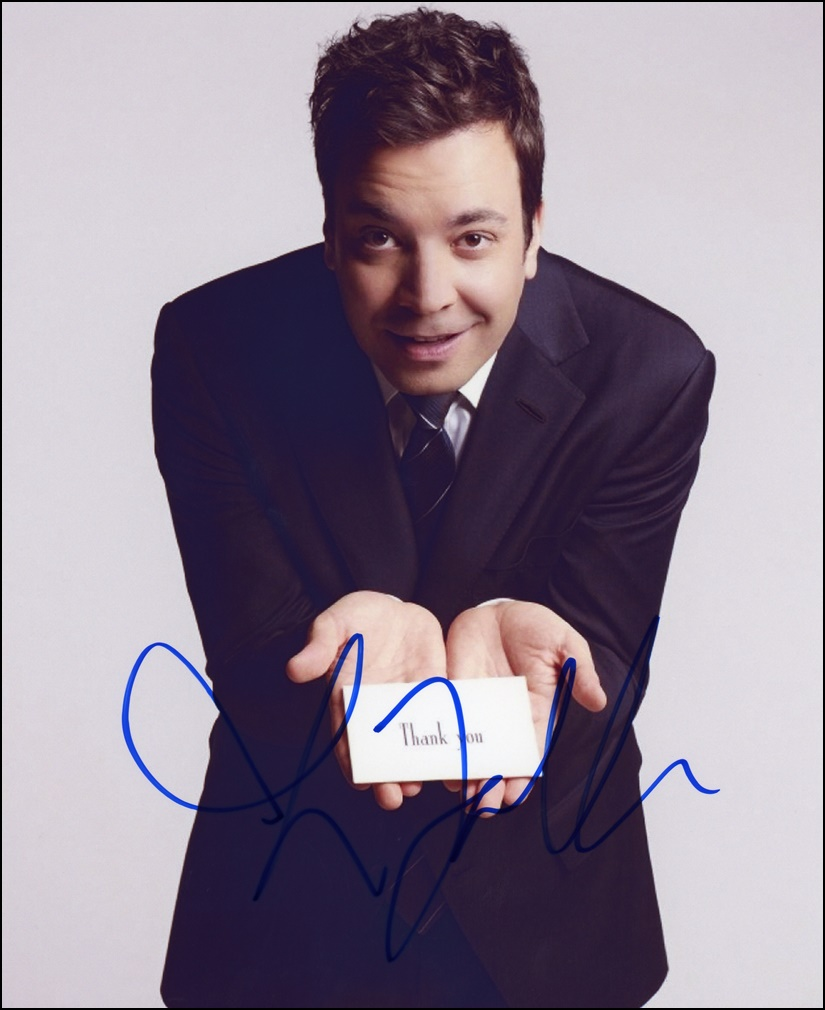 Jimmy Fallon Signed Photo