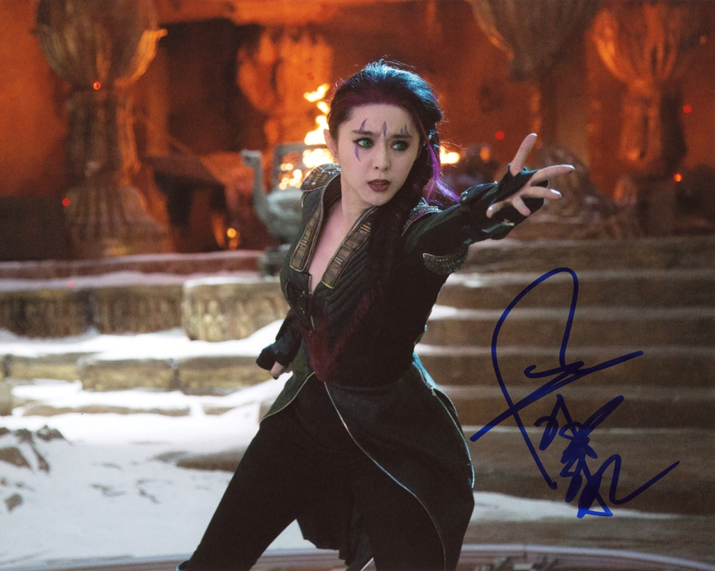 Bingbing Fan Signed Photo
