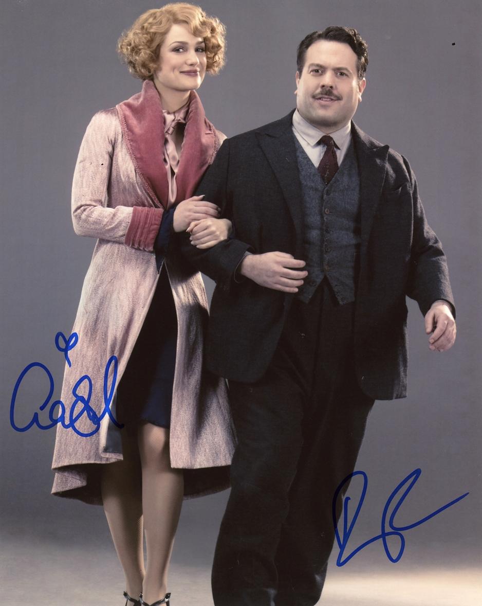 Alison Sudol & Dan Fogler Signed Photo