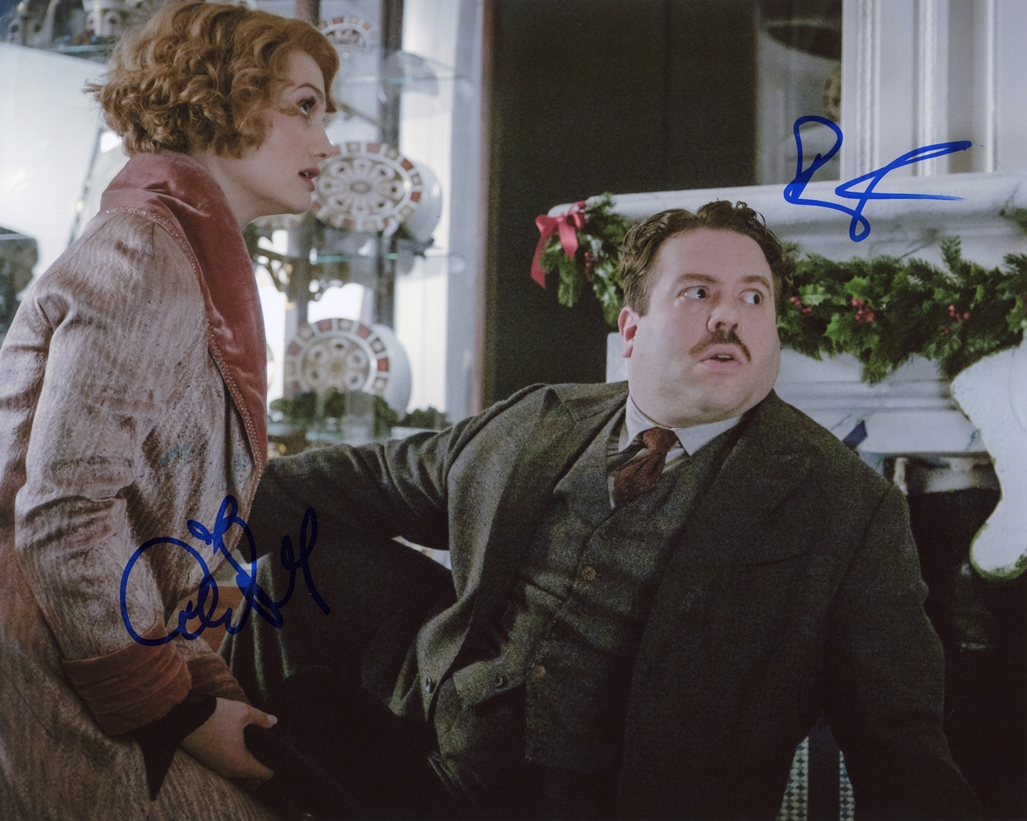 Alison Sudol & Dan Fogler Signed Photo
