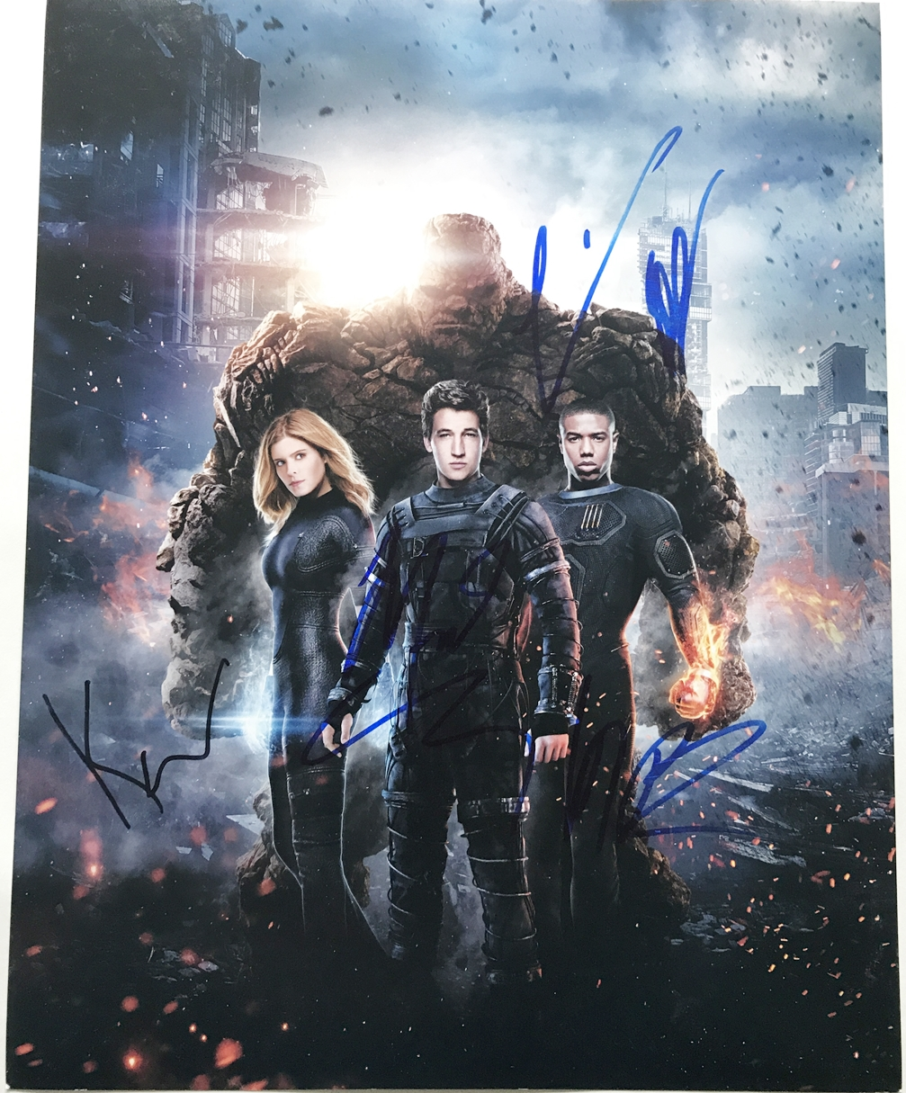Fantastic Four Signed Photo