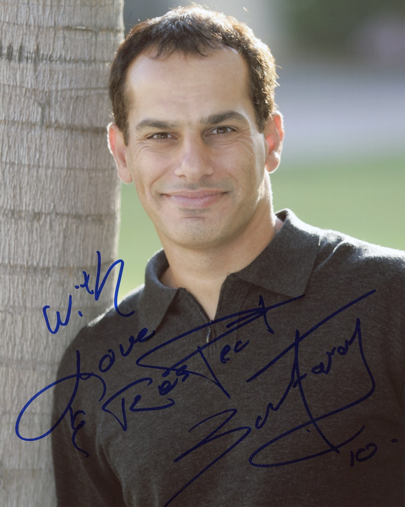 Said Faraj Signed Photo