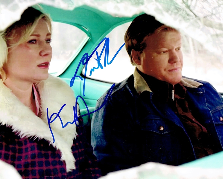 Kirsten Dunst & Jesse Plemons Signed Photo