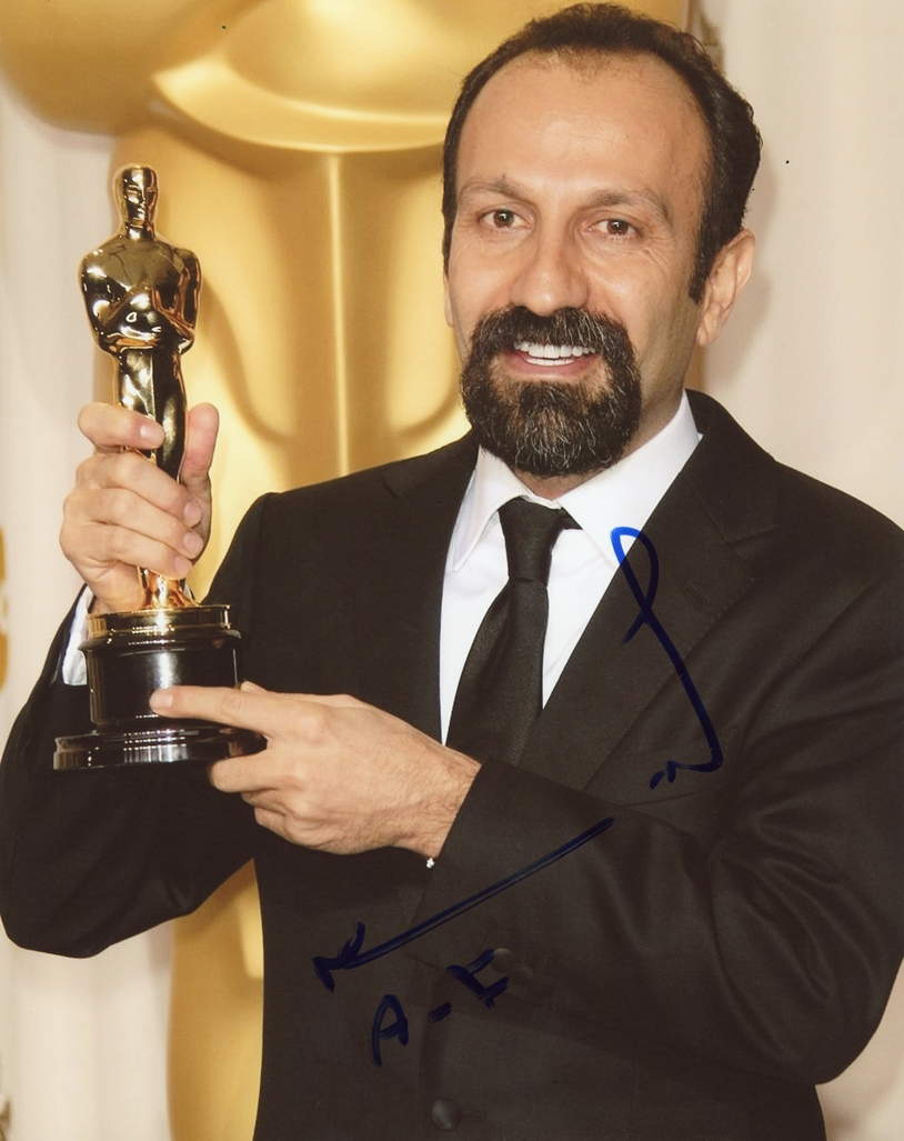 Asghar Farhadi Signed Photo