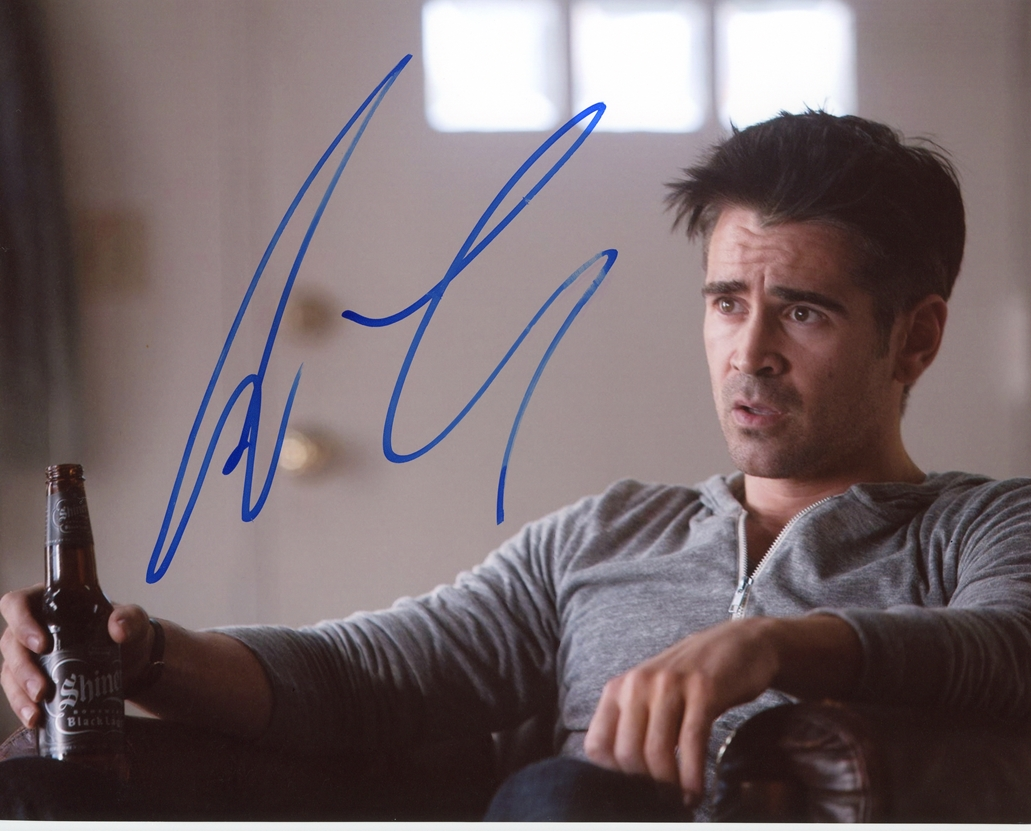 Colin Farrell Signed Photo