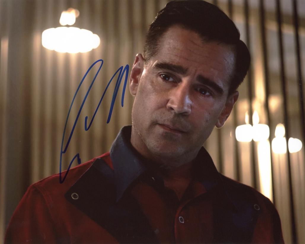 Colin Farrell Signed Photo