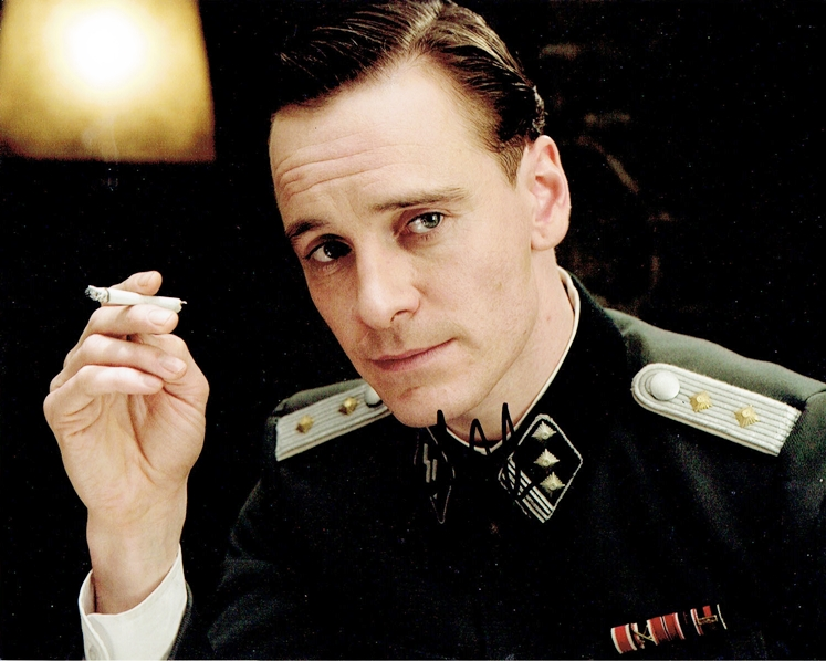 Michael Fassbender Signed Photo