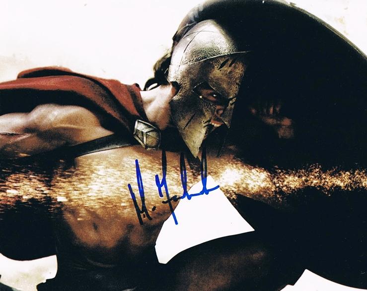 Michael Fassbender Signed Photo