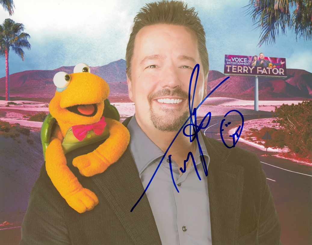 Terry Fator Signed Photo