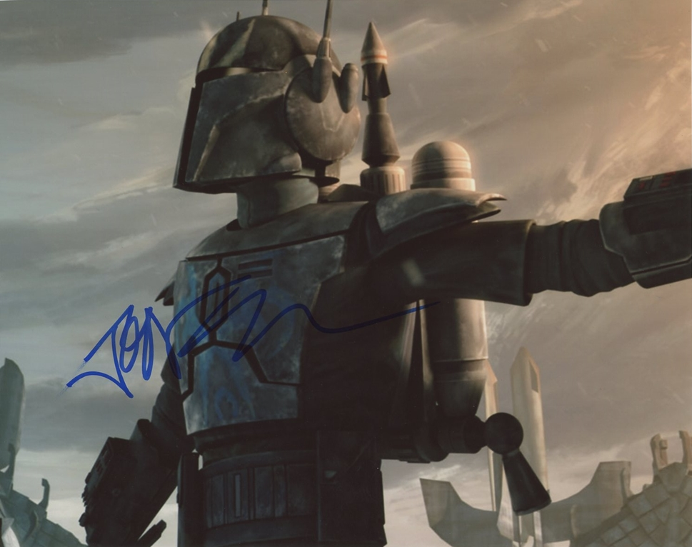 Jon Favreau Signed Photo