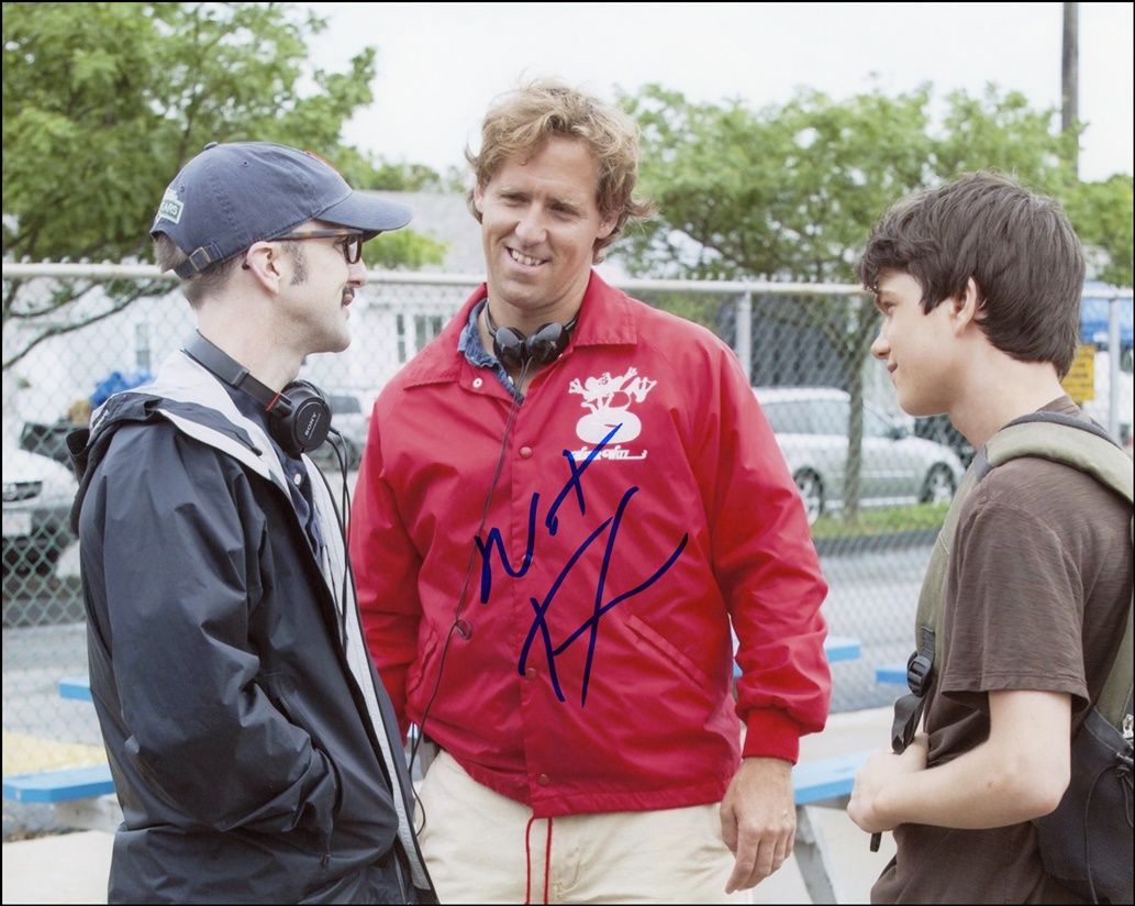 Nat Faxon Signed Photo