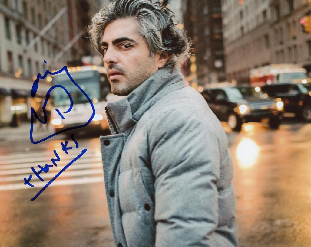 Feras Fayyad Signed Photo