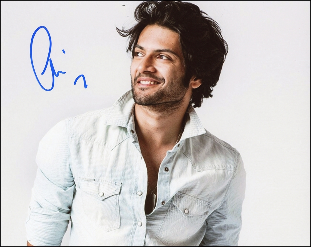 Ali Fazal Signed Photo