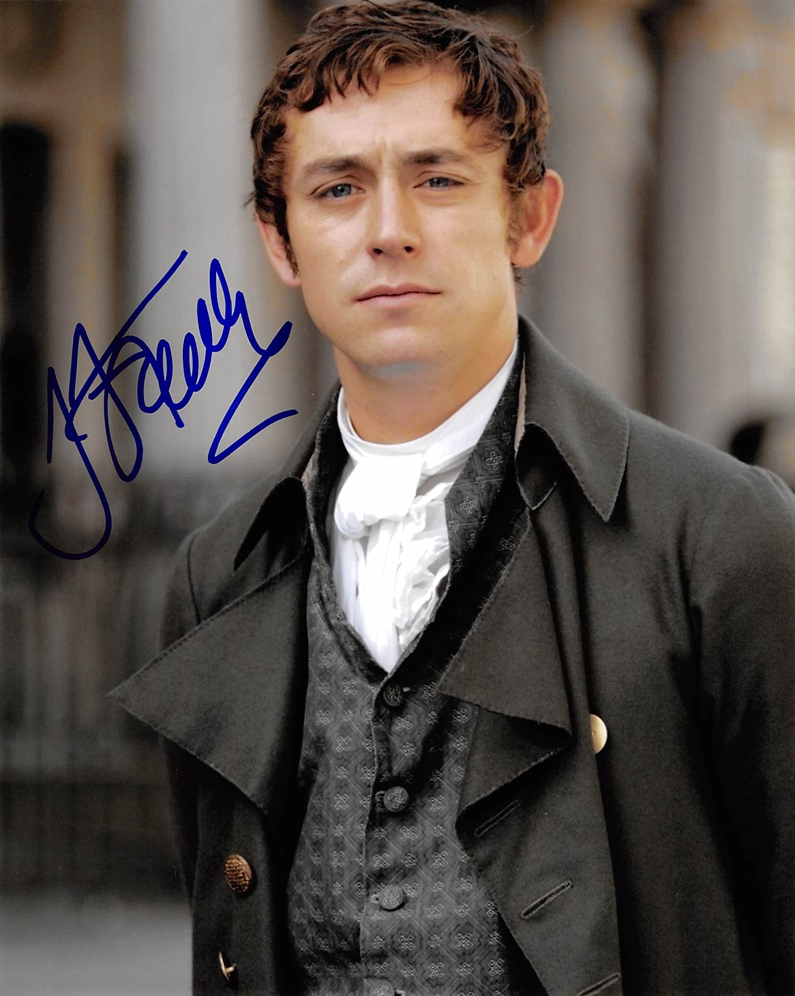 JJ Feild Signed Photo