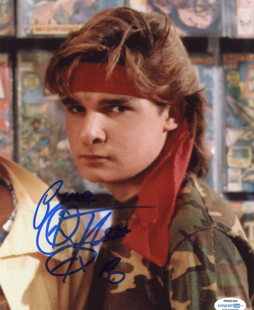Corey Feldman Signed Photo