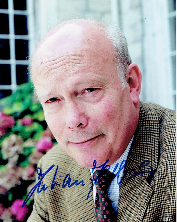 Julian Fellowes Signed Photo
