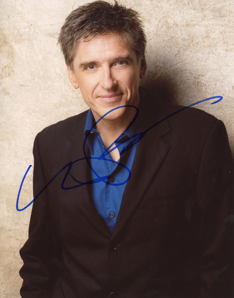 Craig Ferguson Signed Photo