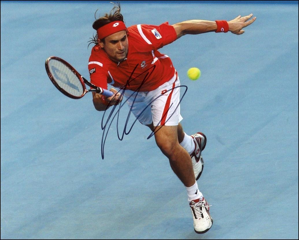 David Ferrer Signed Photo