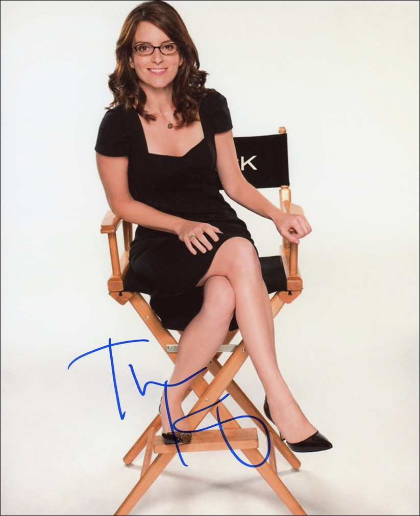 Tina Fey Signed Photo