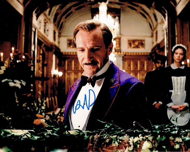 Ralph Fiennes Signed Photo