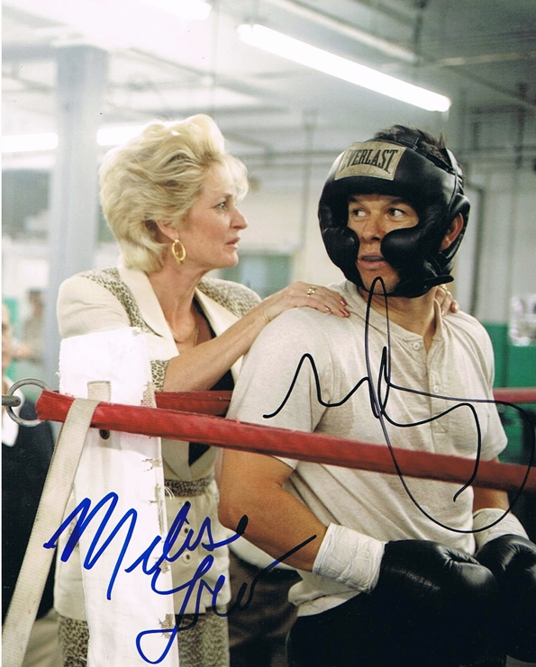 Mark Wahlberg & Melissa Leo Signed Photo