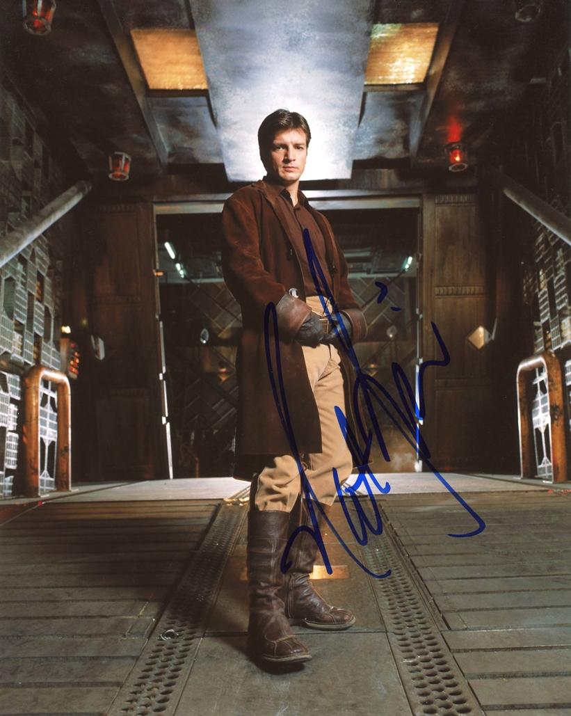 Nathan Fillion Signed Photo