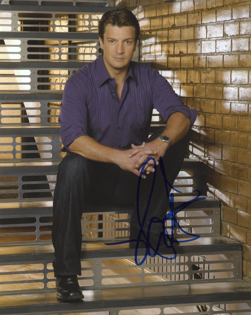 Nathan Fillion Signed Photo