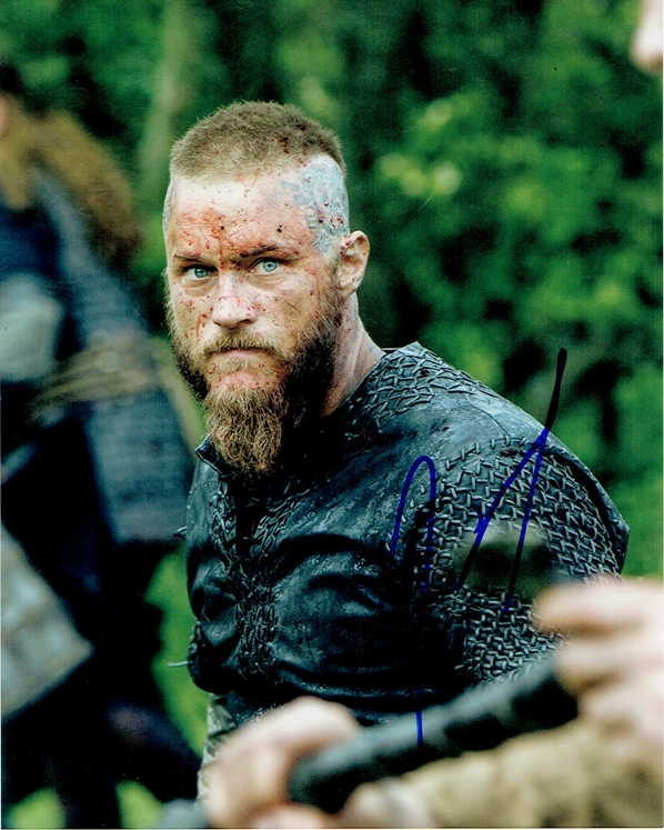 Travis Fimmel Signed Photo