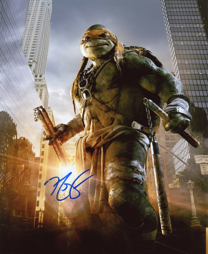 Noel Fisher Signed Photo