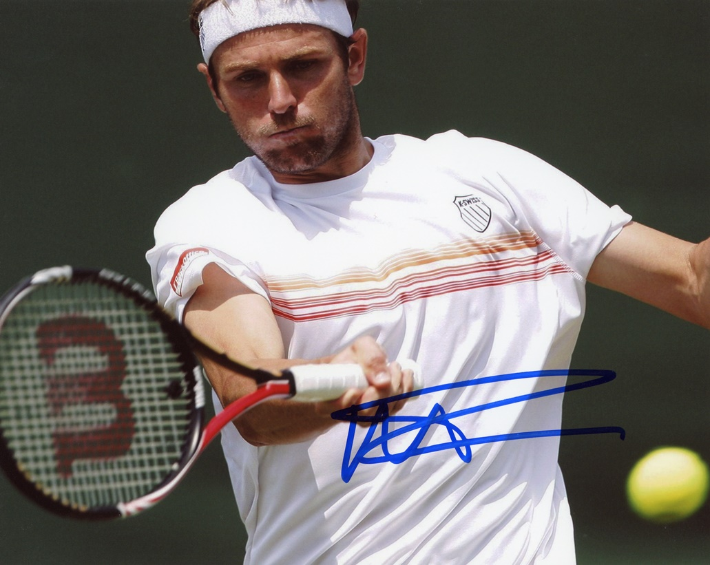 Mardy Fish Signed Photo