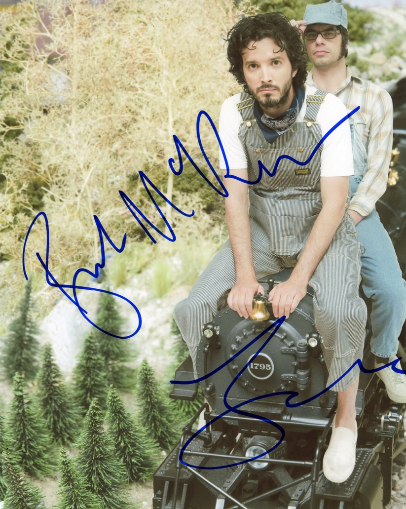 Bret McKenzie & Jemaine Clement Signed Photo