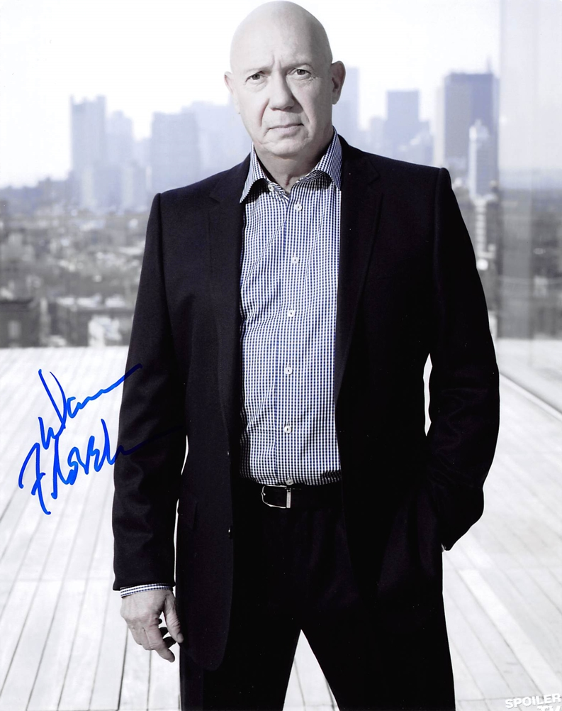 Dann Florek Signed Photo