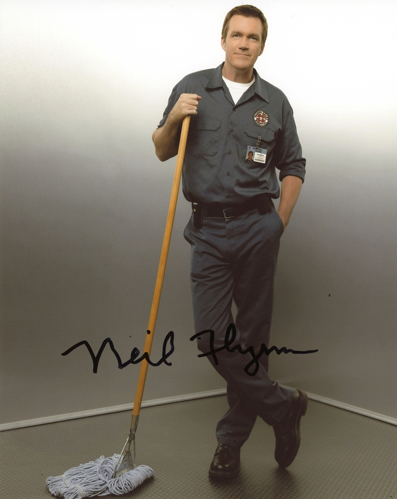 Neil Flynn Signed Photo