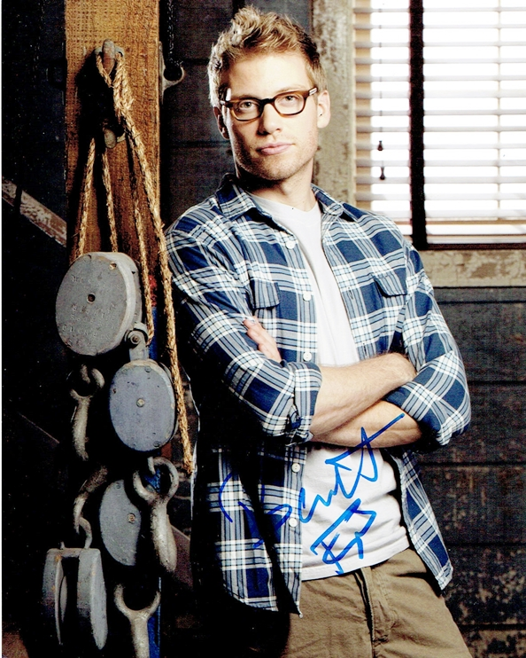 Barrett Foa Signed Photo
