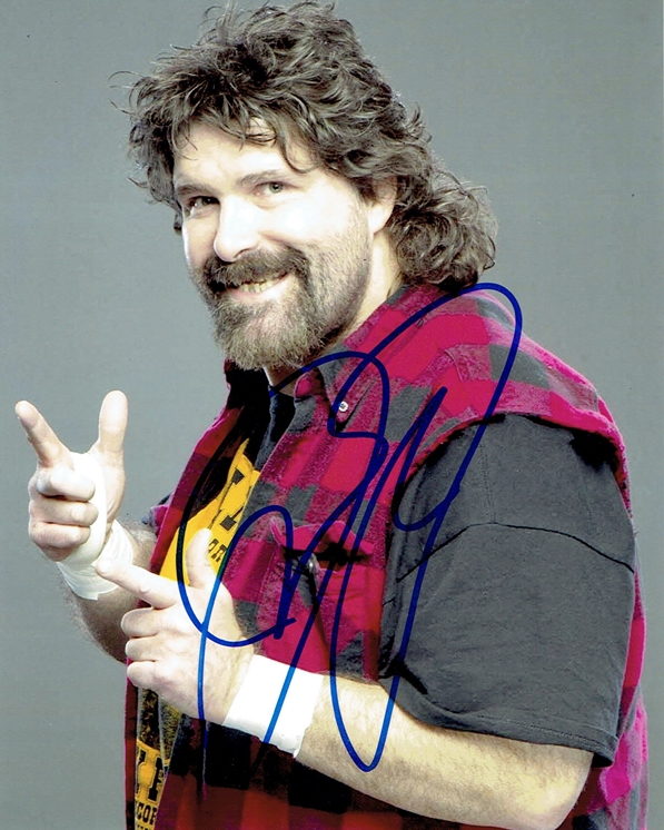 Mick Foley Signed Photo