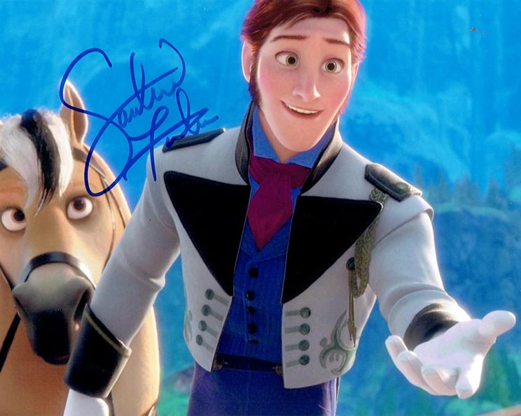 Santino Fontana Signed Photo