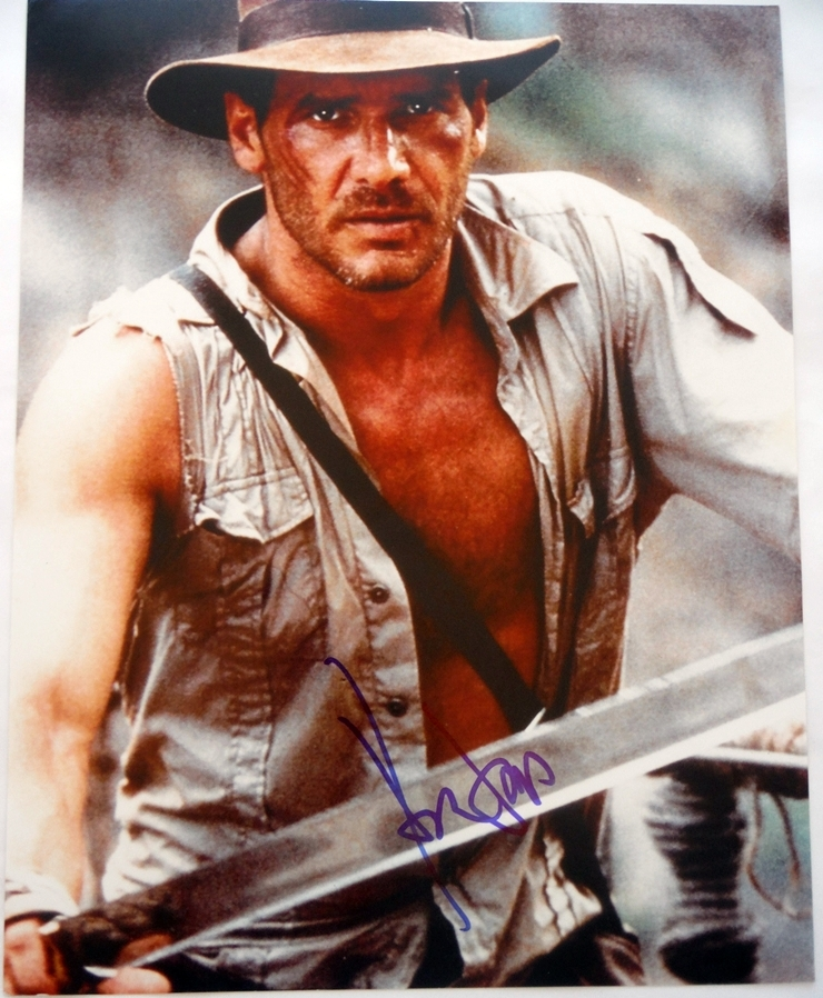 Harrison Ford Signed Photo