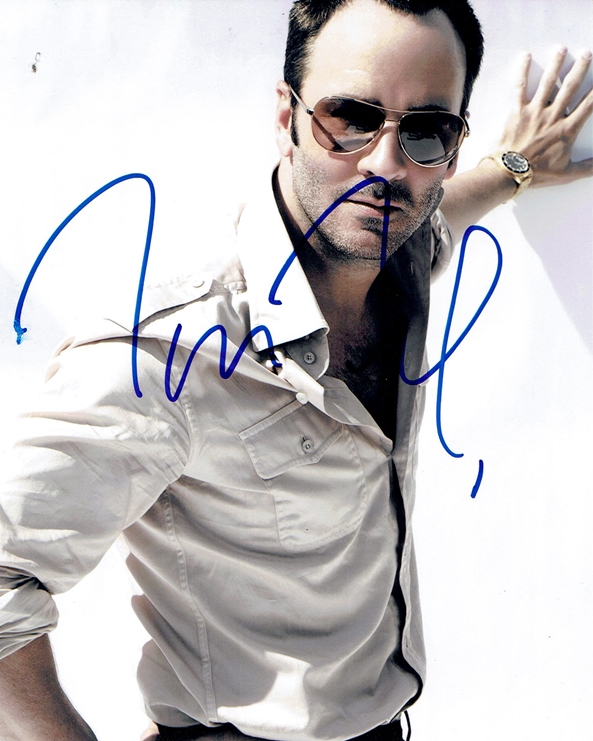 Tom Ford Signed Photo