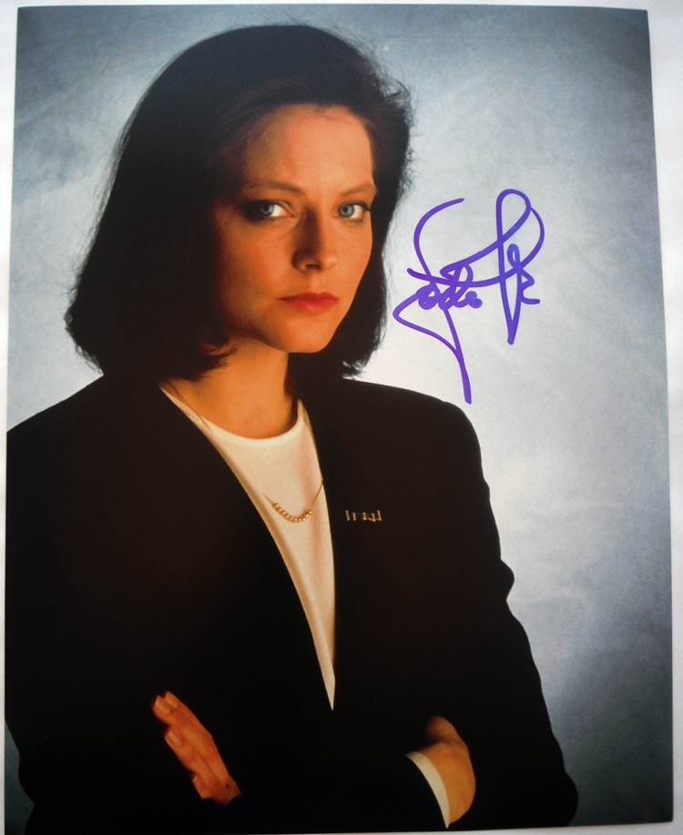 Jodie Foster Signed Photo