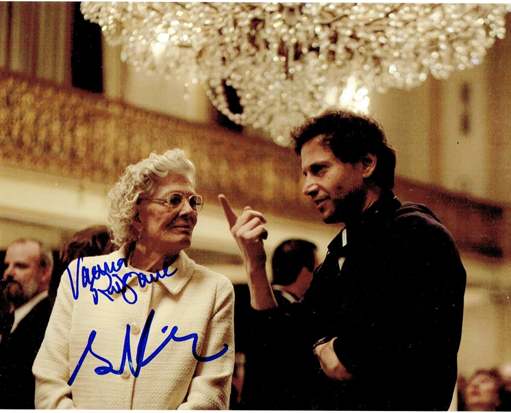 Bennett Miller & Vanessa Redgrave Signed Photo