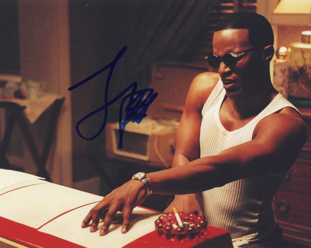 Jamie Foxx Signed Photo