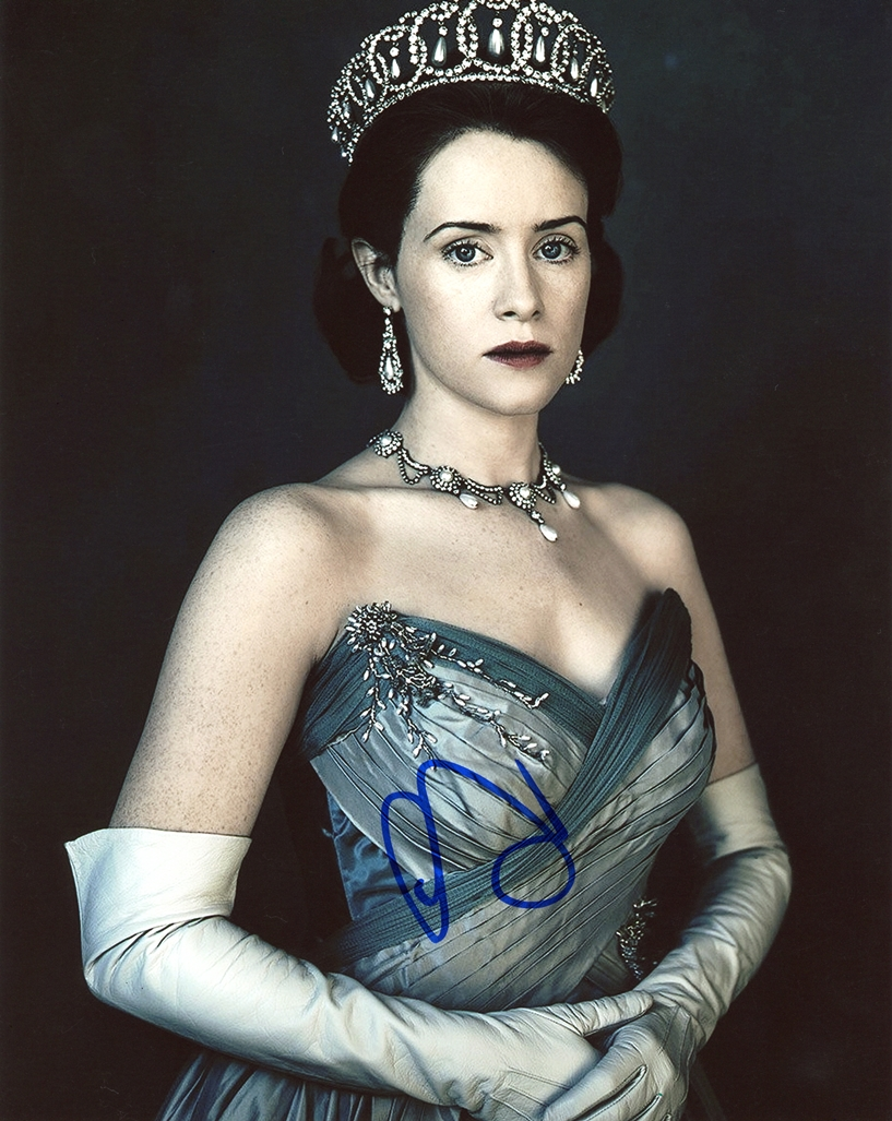 Claire Foy Signed Photo