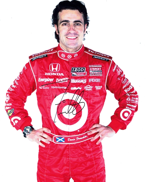 Dario Franchitti Signed Photo