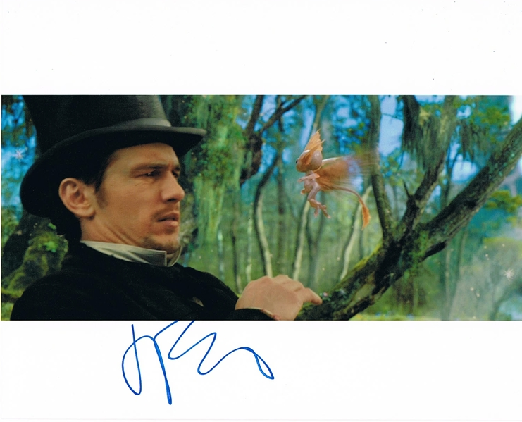 James Franco Signed Photo